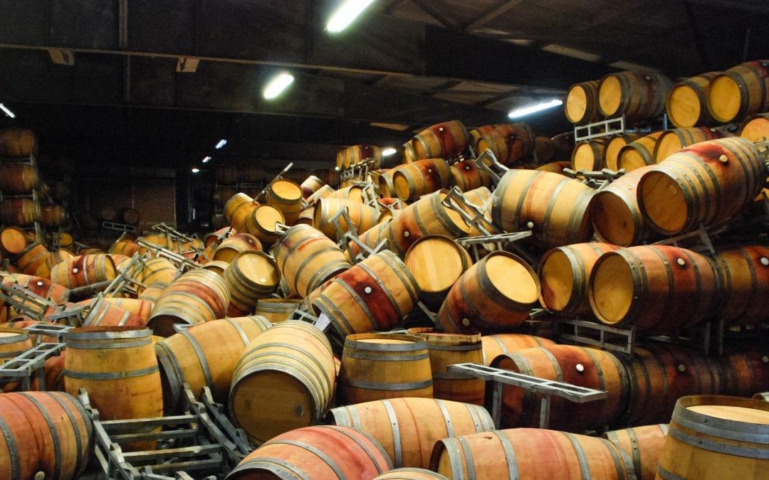 Safe Stacking Of Wine Barrels